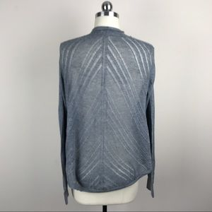 Express Soft Grey Light Open Cardigan Sz M